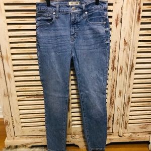 "Madewell 9"" High Rise Skinny Jean Eco Edition"